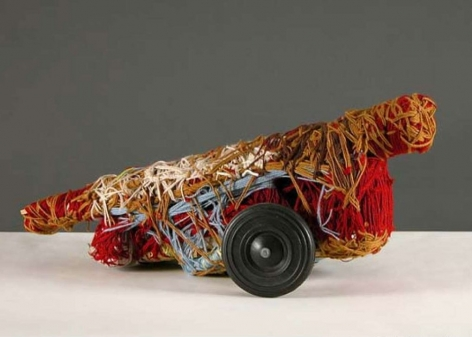 Untitled (Plastic Wheel), 1993, Mixed media