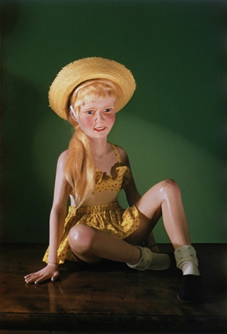 Girl in Yellow Sunsuit, 1955 / 2006, Chromogenic print
