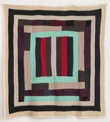 Lola Pettway (b. 1941), Housetop quilt, 2004