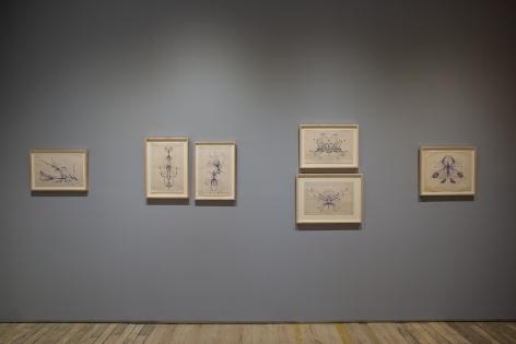 Eugene Von Bruenchenhein: Drawings 1964-67
