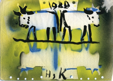 Untitled, 1980 Mixed media on paper