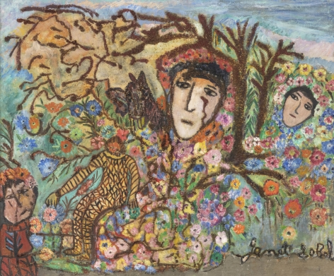 Janet Sobel (1893-1968)