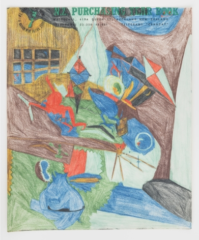 Untitled, 1967-1969, Colored pencil on paper