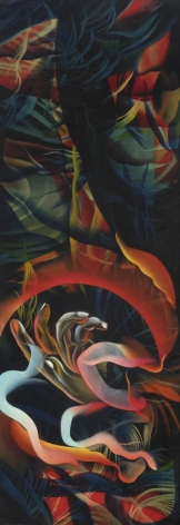 Untitled, 1930s-1960s, c. 1980, Oil on canvas