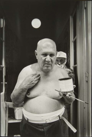 August Walla, Gugging, 1993, Silver gelatin print