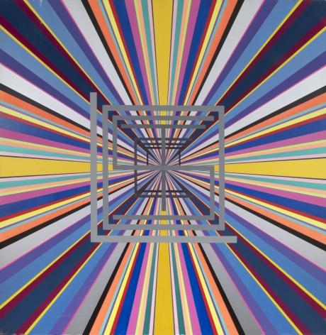 92 (a) 1,1992, Acrylic on panel