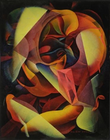 Untitled, 1930s-1960s, c. 1980, Oil on board