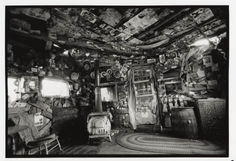 The Three Little Pigs House (interior), 2001, Silver gelatin print