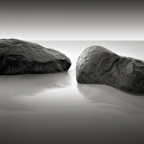 David Fokos, Two Rocks, Study #2, Chilmark, Massachusetts 1995, 1995