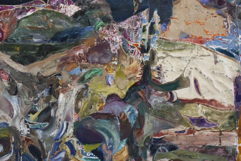 JoshuaHagler Between Earth and Here (detail), 2020