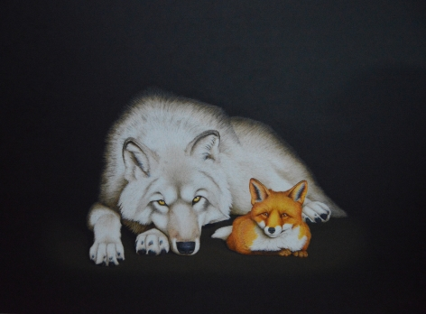 Isabelle du Toit, Wolf and Fox, 2017