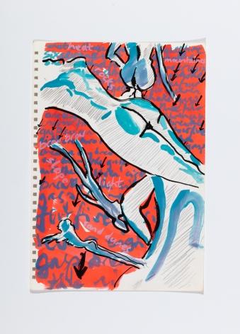 Richard Patterson, Kennington Drawing 3, 1988