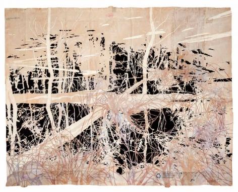 Maysey Craddock, The Land is Already Shadow, 2014