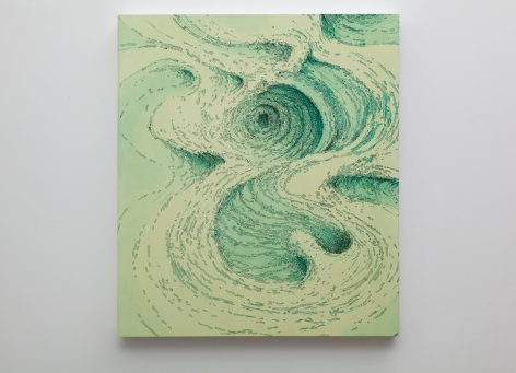 Becca Booker, Green Current, 2015