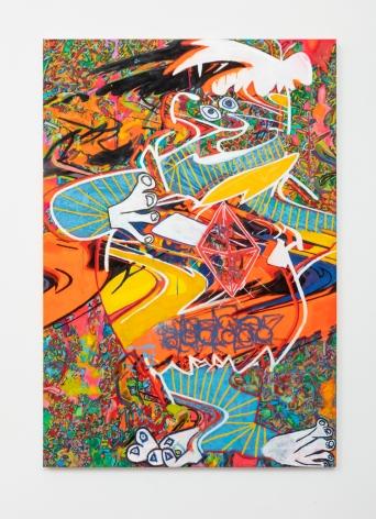 """Ruben Nieto, """"Fred Flintstone"""" - After Picasso and Lichtenstein, 2020"""