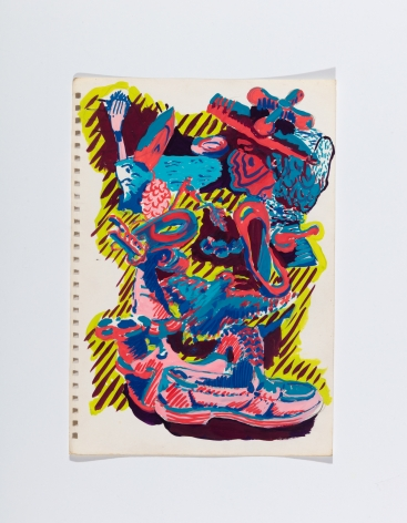 Richard Patterson, Kennington Drawing 2, 1988