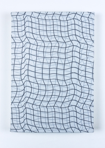 "Timothy Harding, 19"" x 13"", Flipped Grid, 2018"