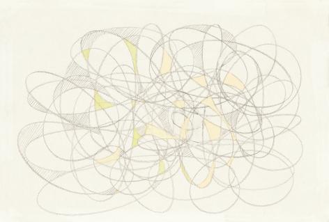 Richard Patterson, Freeze Drawing 6, 1988
