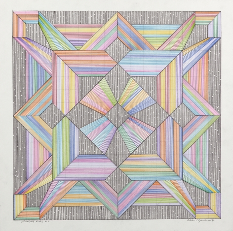 Adrian Esparza, Midnight Kite #2, 2017