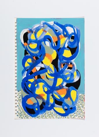 Richard Patterson, Kennington Drawing 4, 1988