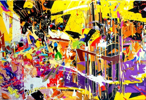 Ruben Nieto, Warhol Breaking Through Abstraction, 2013