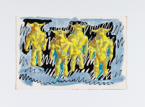 Richard Patterson, Kennington Drawing 7, 1988