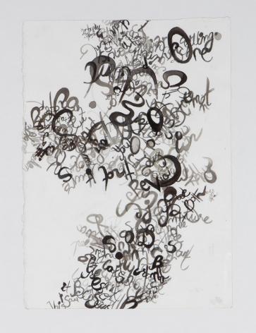 Simeen Farhat, Swarm of Words, 2014