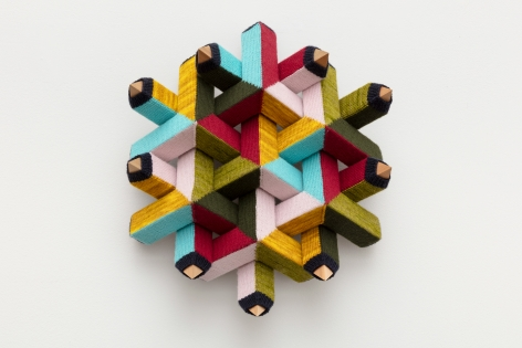 Rusty Scruby, Triangles (This Little Ring of Mine), 2021