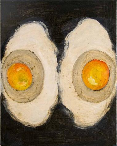 Paul Manes, Eggs Fried, 2018