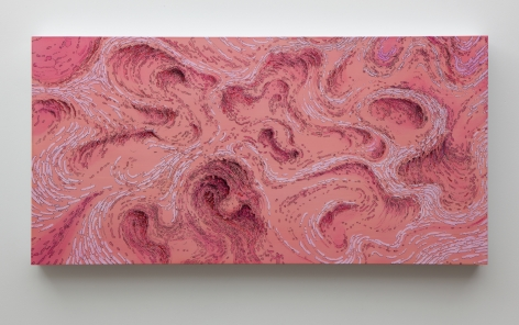 Becca Booker, Pink Current, 2015