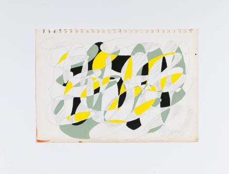 Richard Patterson, Kennington Drawing 15, 1988