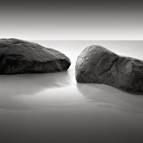 David Fokos, Two Rocks, Study #2, Chilmark, Massachusetts 1995, 1995