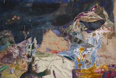 Joshua Hagler,Between Earth and Here(detail), 2020