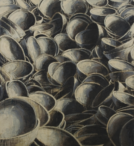 Paul Manes, Untitled ( Grey Bowls), 2007