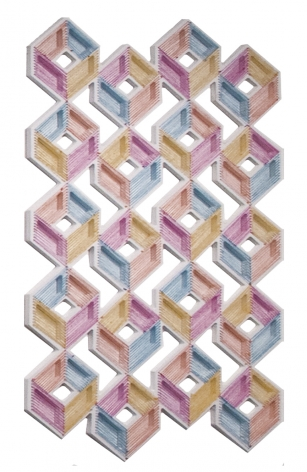 Adrian Esparza, Structure Pattern, 2016