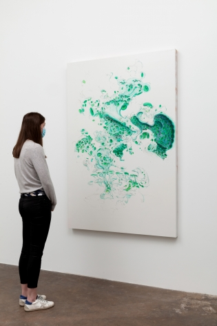 Becca Booker, Blues and Greens, 2020