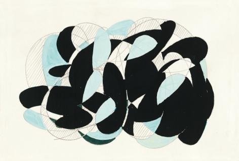 Richard Patterson, Freeze Drawing 5, 1988