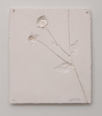 Harry Geffert (1934-2017), Memories of a Pressed Flower #7, 2005