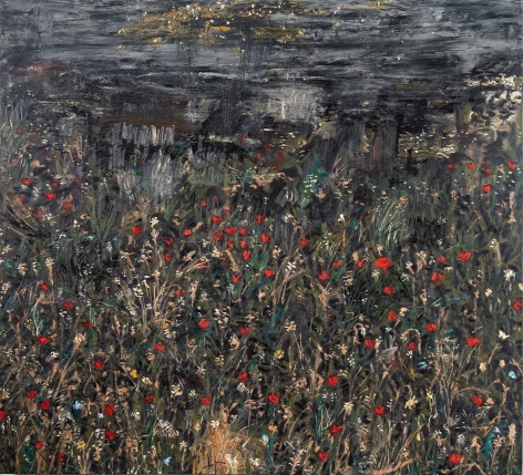 Paul Manes, Night in a Poppy Field, 2018