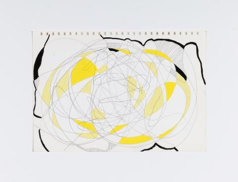 Richard Patterson, Kennington Drawing 17, 1988