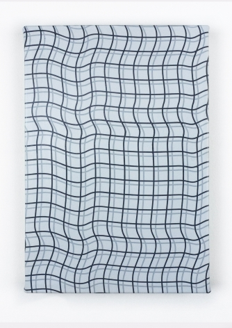 """Timothy Harding, 19"""" x 13"""", Double Grid, 2018"""