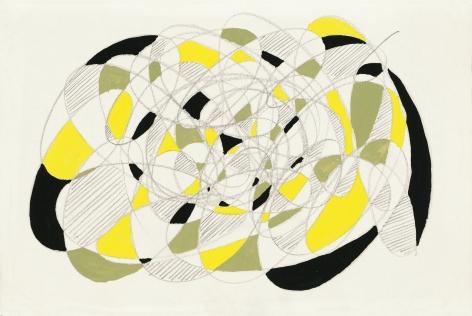 Richard Patterson, Freeze Drawing 3, 1988