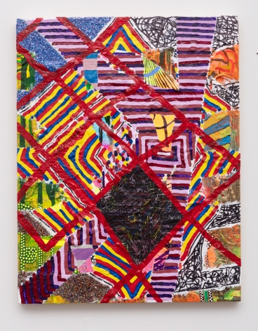 Steven Charles, On the manner of addressing quilts, 2019