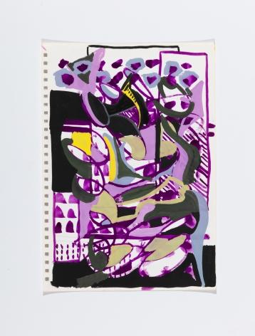 Richard Patterson, Kennington Drawing 13, 1988