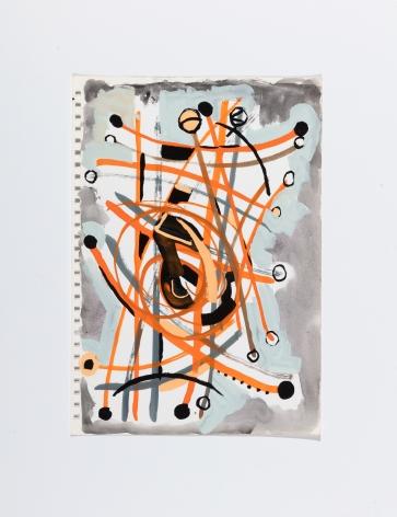 Richard Patterson, Kennington Drawing 11, 1988