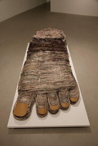 Celia Eberle, Barefoot and Pregnant, 2013
