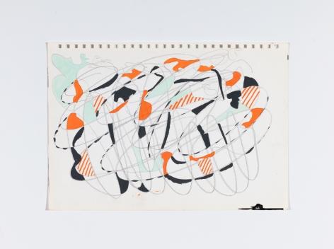 Richard Patterson, Kennington Drawing 10, 1988