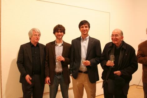 Marc Masurovsky (left) and Adam Masurovsky (center)