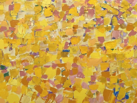 Yellow Painting (detail), 1966