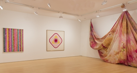 ALMA THOMAS, Untitled, Study for Azaleas Sway with the Breeze, c. 1968, KENNETH NOLAND, Missus, 1962